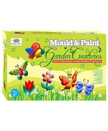 Happy Kidz Mould And Paint Garden Cratures