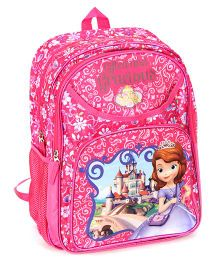 Disney Sofia the First School Bag 15 Inches - Pink