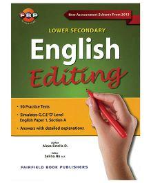 Lower Secondary English Editing-English