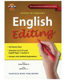 Upper Secondary English Editing-English