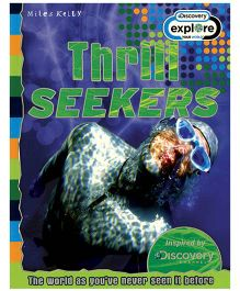 Miles Kelly Discovery Channel Thrill Seekers Book - English