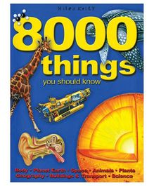 Miles Kelly 8000 Things You Should Know Book - English
