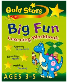 Gold Stars Big Fun Learning Workbook - English