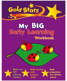 Gold Stars My Big Early Learning Workbook - English