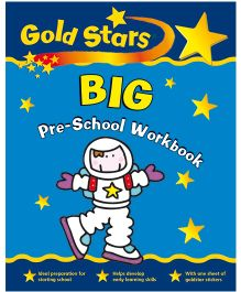 Gold Stars Big Pre-School Workbook - English