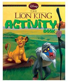 Disney The Lion King Activity Book- English