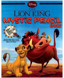 Disney The Lion King Mystic Pencil Book- English