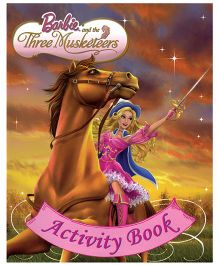 Barbie And The Three Musketeers Activity Book - English