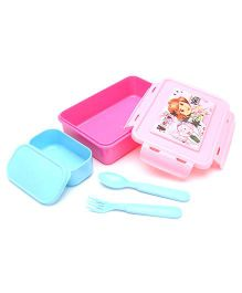 Dora Lunch Box - Pink And Blue