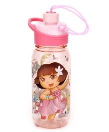 Dora Water Bottle Pink - 550 ml