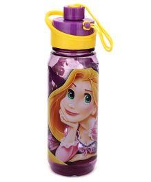 Disney Princess Rapunzel Print Water Bottle Purple - 650 ml