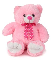 Dimpy Stuff Standing Bear Soft Toy Pink - 73 cm