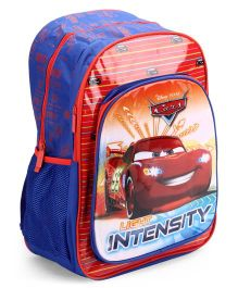 Disney Pixar Cars School Bag 18 Inches - Blue And Red