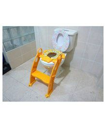 Elefantastik Potty Seat With Adjustable Ladder - Yellow