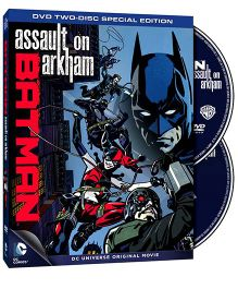 Sony DVD Batman Assault On Arkham - English