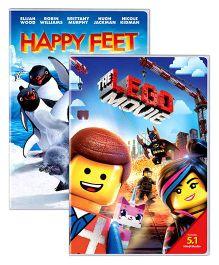Sony DVD The Lego Movie And Happy Feet - English