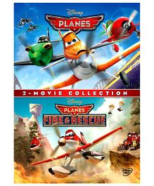 Planes 1 And 2 DVD - English