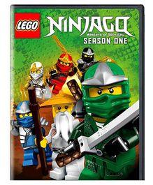 Sony LEGO Ninjago Masters of Spinjitzu Season One Volume 1 DVD U - English