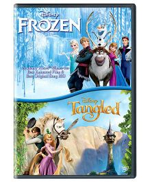 Sony Frozen And Tangled DVD U - English