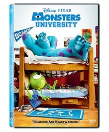 Sony Monsters University DVD U - English