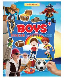 Sticker Activity Book Boys - English