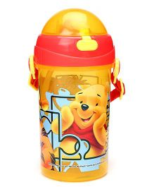 Disney Winnie The Pooh Sipper Bottle Yellow - 500 ml
