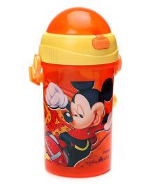 Mickey Mouse And Friends Sipper Bottle Orange - 500 ml