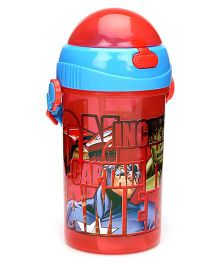 Marvel Avengers Sipper Bottle Red - 500 ml