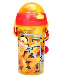 Disney Winnie The Pooh Sipper Bottle Yellow - 380 ml