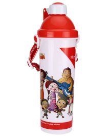 Chhota Bheem Push Button Sipper Bottle Red - 550 ml