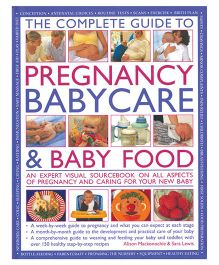 The Complete Guide To Pregnancy Babycare And Baby Food-English