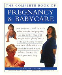 The Complete Book Of Pregnancy And Baby Care - English