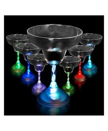 Wnna Party LED Martini Glass - 6 oz