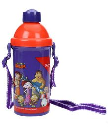 Chhota Bheem Sipper Bottle Blue And Red - 450 ml