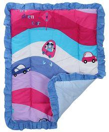 Sapphire Baby Dohar Comforter Car Print Small - Multicolour