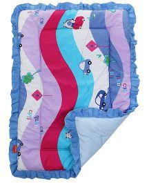 Sapphire Baby Dohar Comforter Car Print Large - Multicolour
