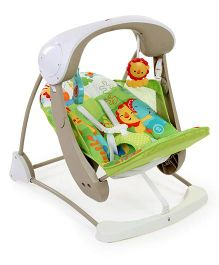 Fisher Price 2 In 1 Take Along Swing And Seat - Multi Color