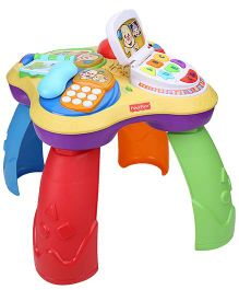 Fisher Price Laugh And Learn Puppy And Friends Learning Table - Multicolor