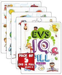 Young Angels EVS IQ Pill Grade 4 Pack Of 5 - English