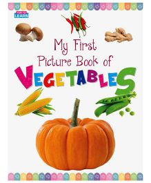 Young Angels My First Picture Book Of Vegetables - English