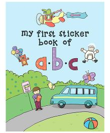 Young Angels My First Sticker Book Of ABC - English
