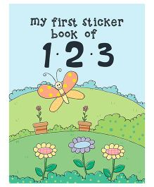 Young Angels  My First Sticker Book Of 123 - English