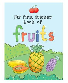Young Angels My First Sticker Book Of Fruits - English