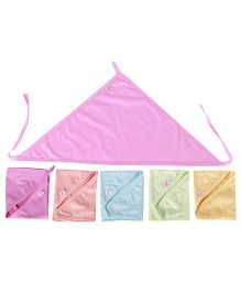 JO Kidswear Cloth Nappies Multi Color - Set Of 5