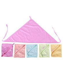 JO Kidswear Cloth Nappies Multi Color - Set Of 5