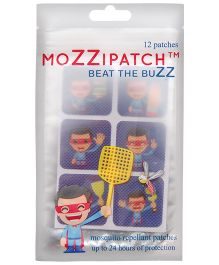 MoZZipatch Patches - Pack of 12