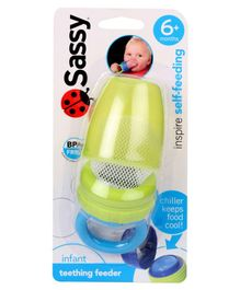 Sassy Teething Feeder - Yellow