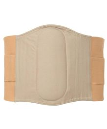 Aaram Postpartum Lumbo Sacral Belt Large - White And Nude