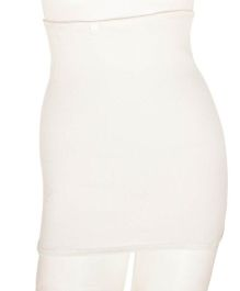 Aaram Corset For Compression And Tummy Reducer Medium - White