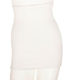 Aaram Corset For Compression And Tummy Reducer Large - White